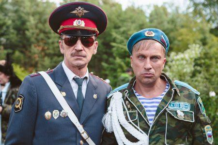 Михаил Боярский и Дмитрий Нагиев - кф «Самый лучший день»